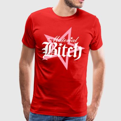 Material Bitch Logo - Men's Premium T-Shirt