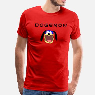 Burp Dogemon BURP - Men's Premium T-Shirt