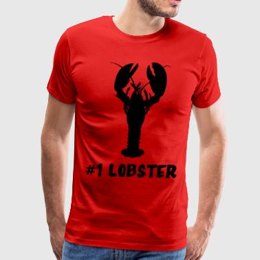 #1 Lobster - Men's Premium T-Shirt