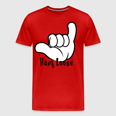 Hang Loose Hand Sign Hang Loose Sign Language - Men's Premium T-Shirt