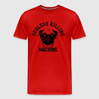 godless killing machine - Men's Premium T-Shirt