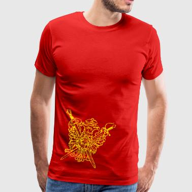 the crest - Men's Premium T-Shirt