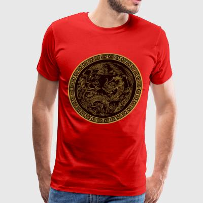 classical dragon - Men's Premium T-Shirt