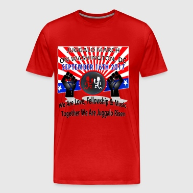 09-16-2017 Juggalo Family March On Washington DC - Men's Premium T-Shirt