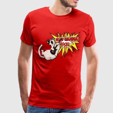 Meow Wanna Rock! - Men's Premium T-Shirt