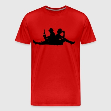 gangsters - Men's Premium T-Shirt