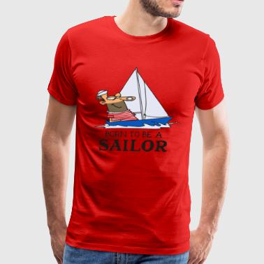 SAILING SAILOR - Men's Premium T-Shirt