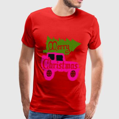 merry christmas 4x4 - Men's Premium T-Shirt
