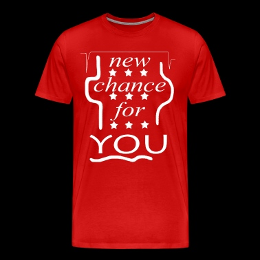 NEW CHANCE FOR YOU - Men's Premium T-Shirt