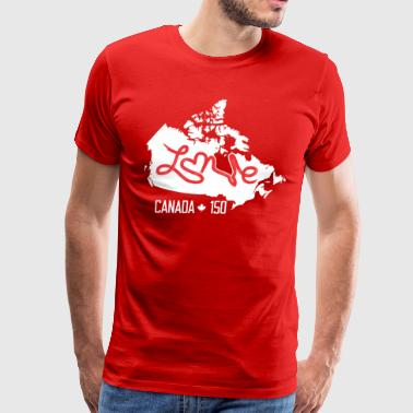 Canada 150th Anniversary TShirt - Men's Premium T-Shirt