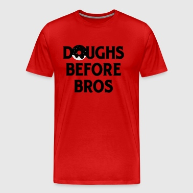 DOUGHS BEFORE BROS - Men's Premium T-Shirt