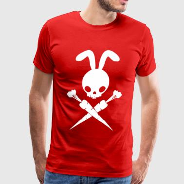 Bad Rabbit And Cross Carrots - Men's Premium T-Shirt