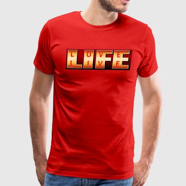 LIFE Live & Love - Men's Premium T-Shirt
