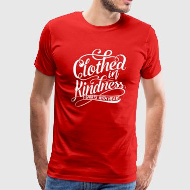 Clothed in Kindess logo shirt - Men's Premium T-Shirt