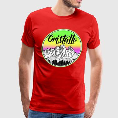 Mount Cristallo - Men's Premium T-Shirt