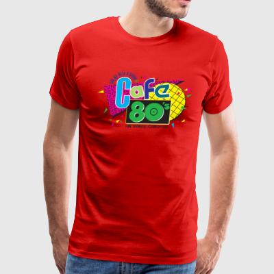 Cafe 80s - Men's Premium T-Shirt