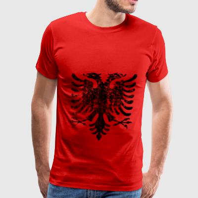 Vintage Albania Black - Men's Premium T-Shirt