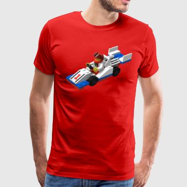LEGO Race Car - Men's Premium T-Shirt