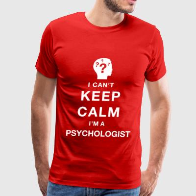 Keep calm psychologist - Men's Premium T-Shirt