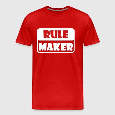Rule Maker - Men's Premium T-Shirt