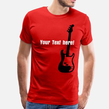 Bass Singer bass - Men's Premium T-Shirt