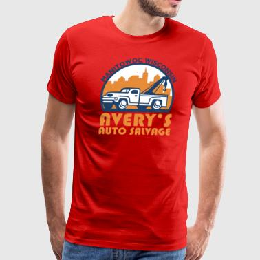 AVERY S AUTO SALVAGE Manitowoc - Men's Premium T-Shirt