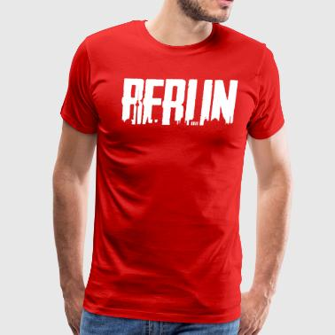 Berlin City - Skyline Shirt - Men's Premium T-Shirt