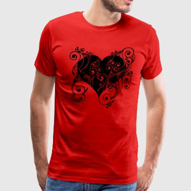 Isle of Heart Petal | by Isles of Shirts - Men's Premium T-Shirt