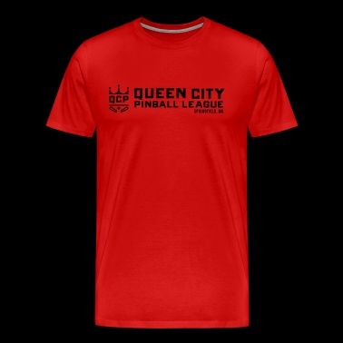 Queen City Pinball - Men's Premium T-Shirt