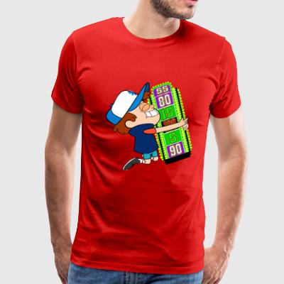 TV Game Show Contestant - TPIR (The Price Is...) - Men's Premium T-Shirt