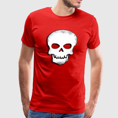 Skull Zone Logo - Men's Premium T-Shirt