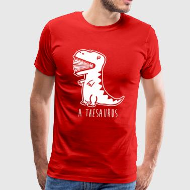 A Thesaurus Funny Animal T shirt - Men's Premium T-Shirt