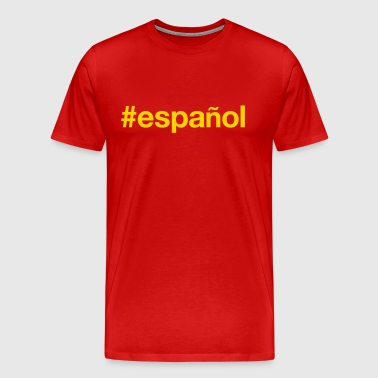 SPANISH - Men's Premium T-Shirt