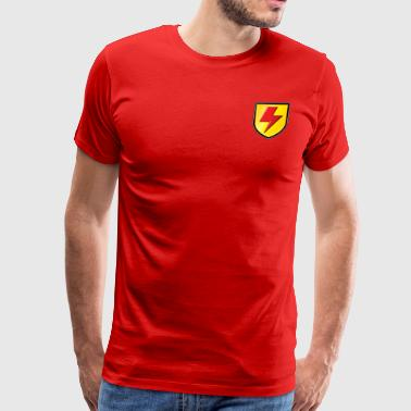 Supa Strikas Shield - Men's Premium T-Shirt