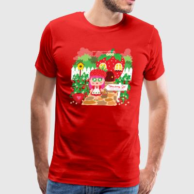 Strawberry Girl - Men's Premium T-Shirt