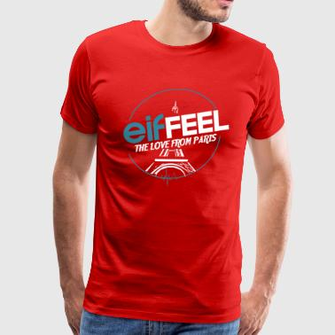 Eiffeel The Love From Paris - Men's Premium T-Shirt