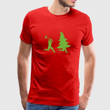 Woodcutter T Shirt - Men's Premium T-Shirt