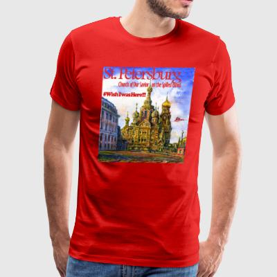 Church of Our Savior on the Spilled Blood - Men's Premium T-Shirt