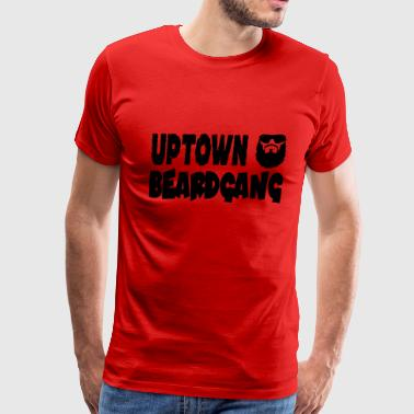 Uptown Beardgang - Men's Premium T-Shirt
