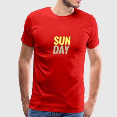 Sunday Days of the Week T-Shirt - Men's Premium T-Shirt
