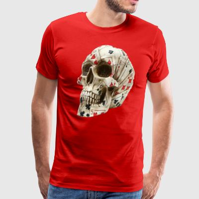 Skull poker - Men's Premium T-Shirt