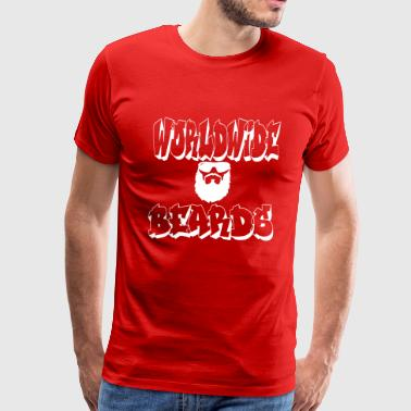 Worldwide Beards - Men's Premium T-Shirt