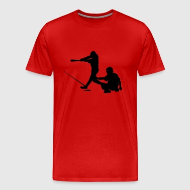 baseball players - Men's Premium T-Shirt