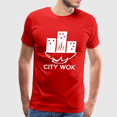 City Wok Funny T shirt - Men's Premium T-Shirt