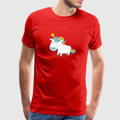 Unicorn With Star T shirt - Men's Premium T-Shirt