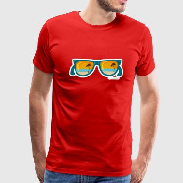 Sunset Sunglasses - Men's Premium T-Shirt