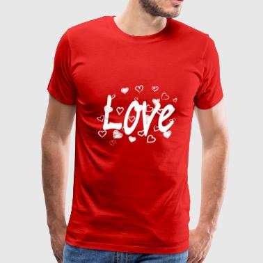 hearts8 - Men's Premium T-Shirt