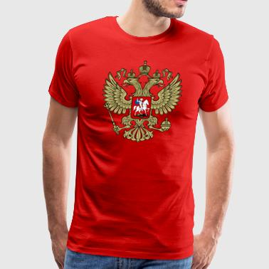 Russian Double Headed Eagle - Men's Premium T-Shirt