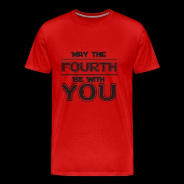 May The Fourth Be with you hoodie - Men's Premium T-Shirt