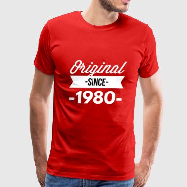 Original since 1980 - Men's Premium T-Shirt